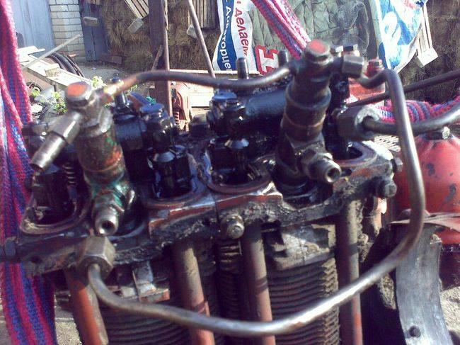 ремонт двигателя т-25