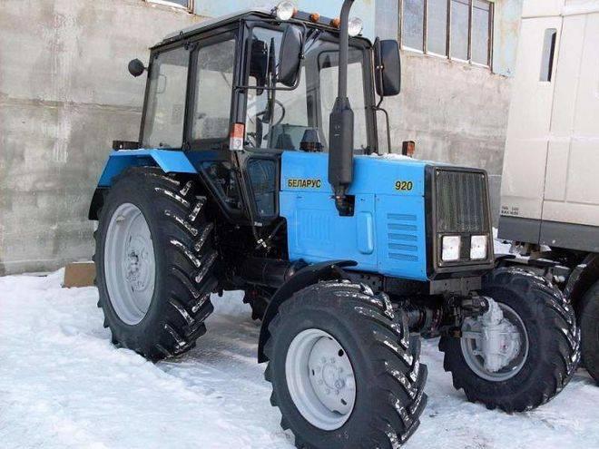 МТЗ 920 зимой