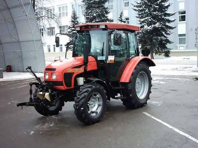 Обзор трактора МТЗ 622