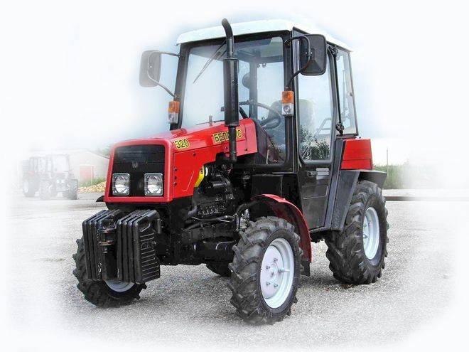 тех харак трактора мтз 320