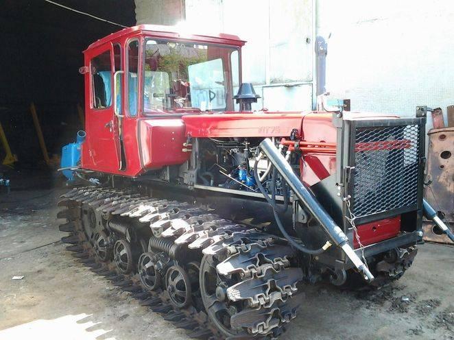 трактор 75
