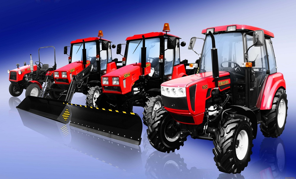 Разные трактора