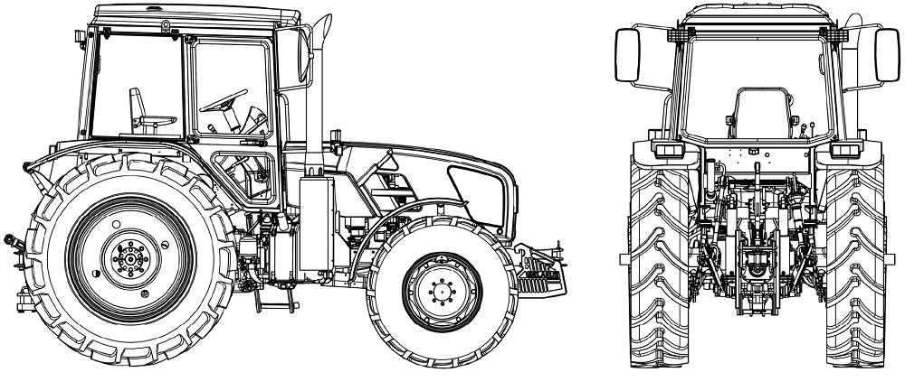 Трактор 1021