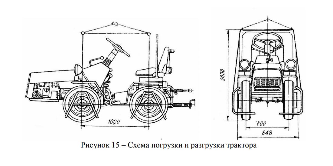 Схема МТЗ 112