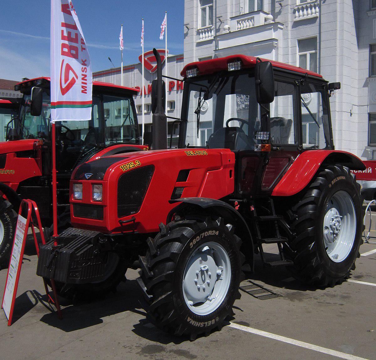 3 модель трактора