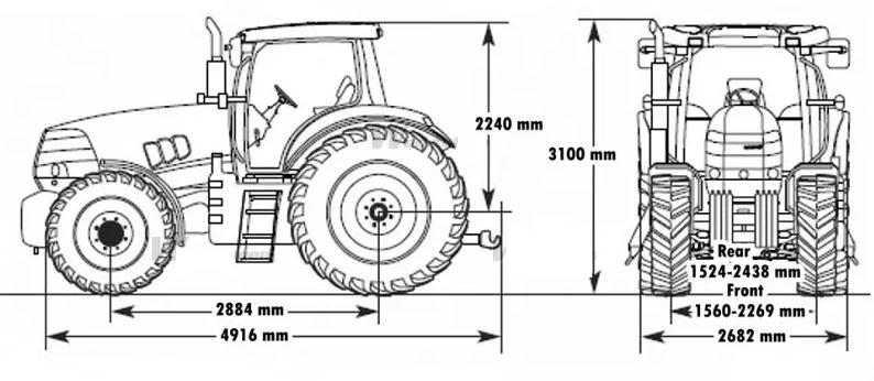Схема трактора кейс пума 210