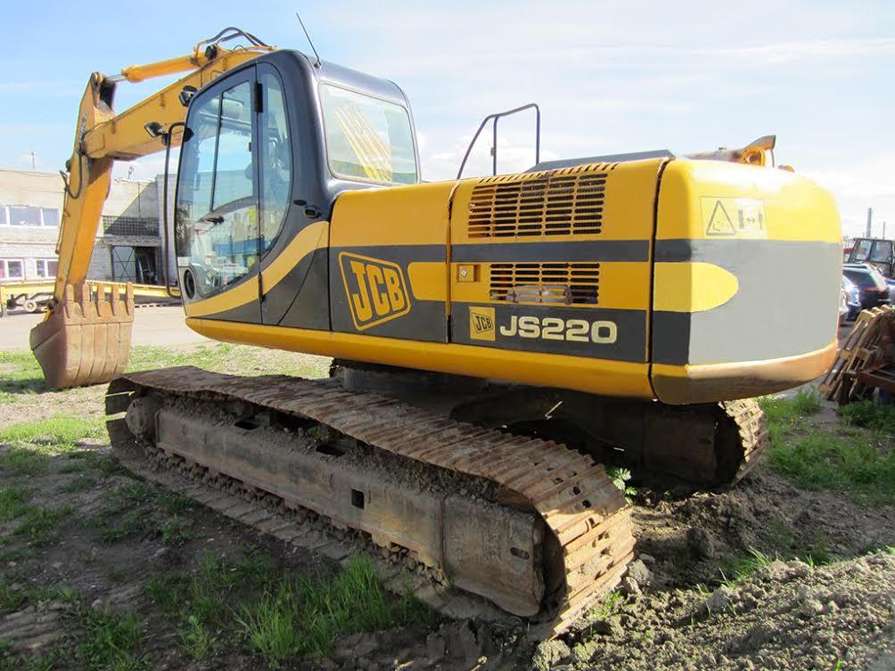 Трактор jcb 220