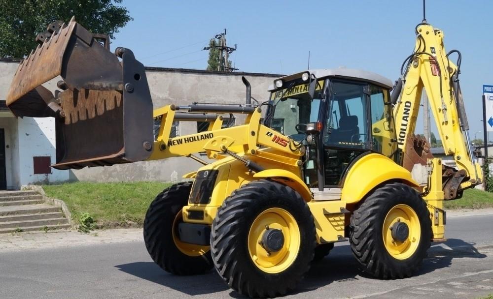 new holland b115b