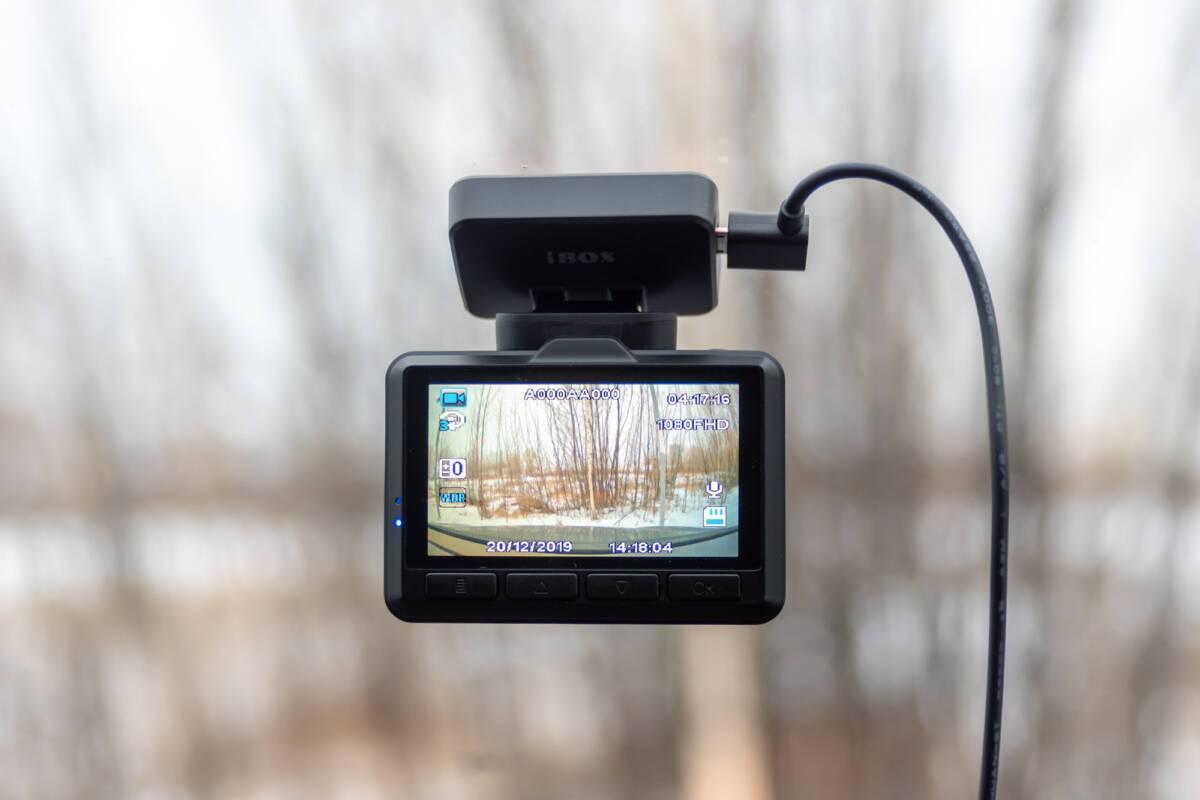 Обзор видеорегистратора iBOX Magnetic WiFi Dual